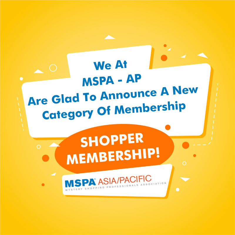 MSPA AP Certified Shopper Membership